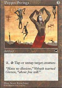 Puppet Strings Magic Card