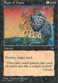 Rain of Tears Magic Card
