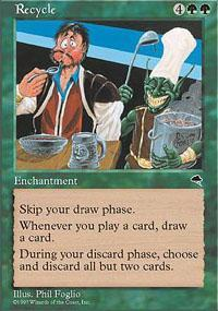Recycle Magic Card