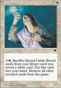 Sacred Guide Magic Card