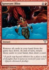 Ignorant Bliss Magic Card