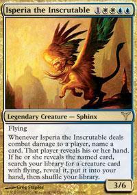 Isperia the Inscrutable Magic Card