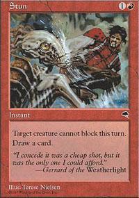 Stun Magic Card
