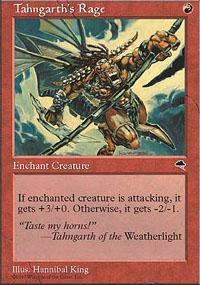 Tahngarth's Rage Magic Card