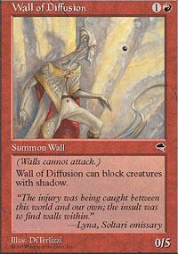 Wall of Diffusion Magic Card