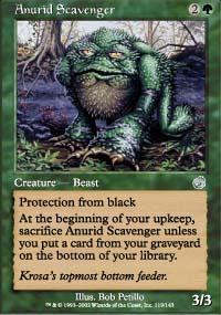 Anurid Scavenger Magic Card