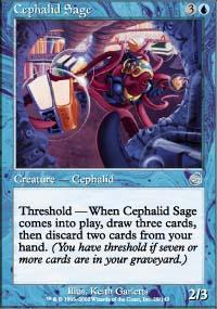 Cephalid Sage Magic Card