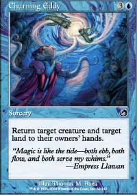Churning Eddy Magic Card