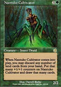 Nantuko Cultivator Magic Card
