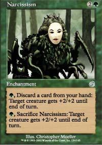 Narcissism Magic Card