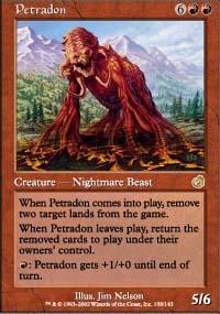 Petradon Magic Card
