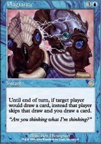 Plagiarize Magic Card