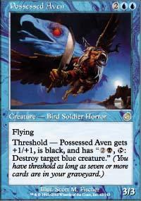 Possessed Aven Magic Card