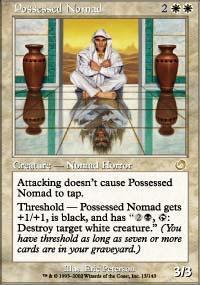 Possessed Nomad Magic Card