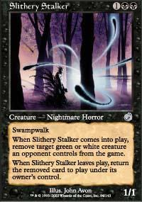 Slithery Stalker Magic Card