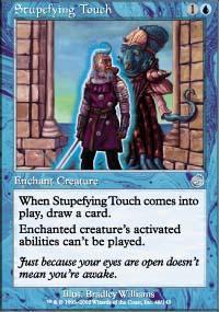 Stupefying Touch Magic Card