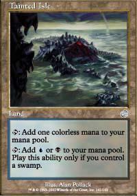 Tainted Isle Magic Card