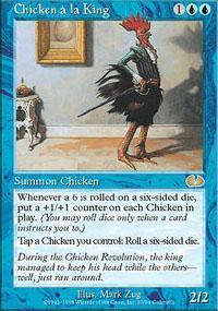 Chicken a la King Magic Card