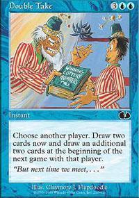 Double Take Magic Card
