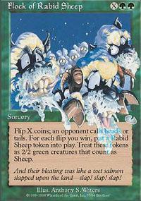 Flock of Rabid Sheep Magic Card