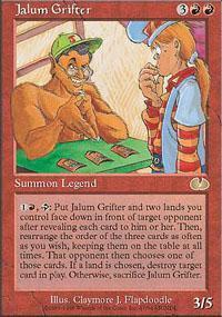 Jalum Grifter Magic Card