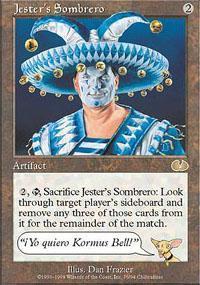 Jester's Sombrero Magic Card
