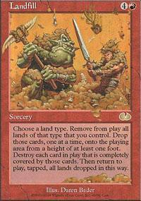 Landfill Magic Card
