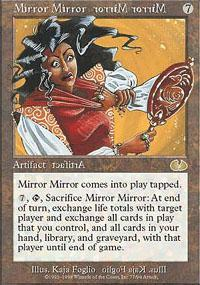 Mirror Mirror Magic Card