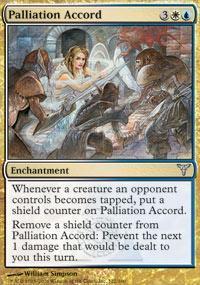 Palliation Accord Magic Card