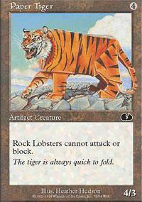 Paper Tiger Magic Card