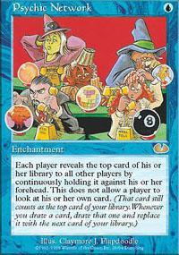 Psychic Network Magic Card