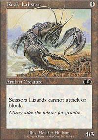Rock Lobster Magic Card