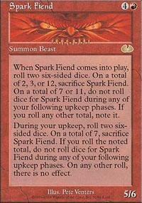Spark Fiend Magic Card