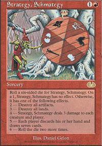 Strategy, Schmategy Magic Card