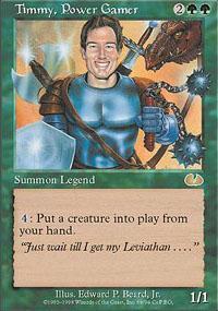 Timmy, Power Gamer Magic Card