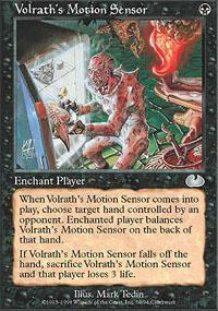 Volrath's Motion Sensor Magic Card