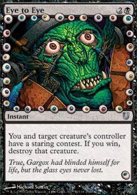 Eye to Eye Magic Card
