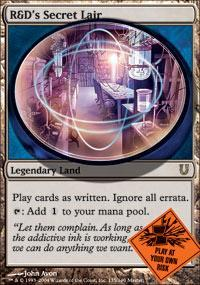 R&D's Secret Lair Magic Card