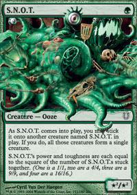 S.N.O.T. Magic Card