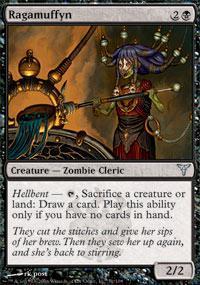 Ragamuffyn Magic Card