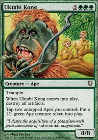 Uktabi Kong Magic Card