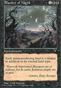 Blanket of Night Magic Card