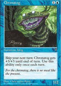 Chronatog Magic Card