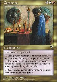 Corrosion Magic Card