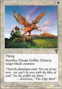 Daraja Griffin Magic Card