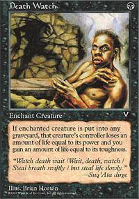 Death Watch Magic Card