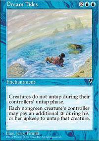 Dream Tides Magic Card