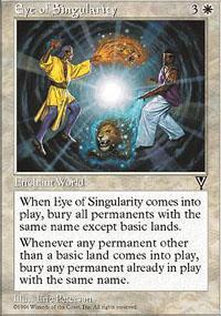 Eye of Singularity Magic Card