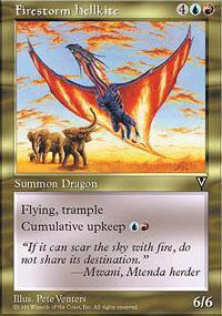 Firestorm Hellkite Magic Card