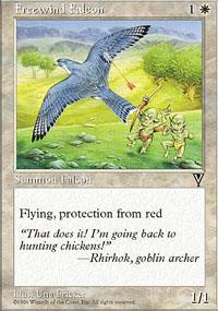 Freewind Falcon Magic Card